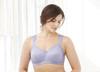 Glamorise Soft Shoulders Everyday Comfort Bra Lavender