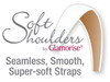 Glamorise Soft Shoulders. Seamless, Smooth, Super-Soft Straps