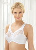 Cottony cups, sides and back keep you cool and comfortable, while the cotton-lined inner cushioned band provides incredible bust support and great shape.
