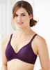 Glamorise Perfect A Cup Seamless Padded T-Shirt Bra Purple