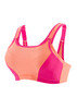 Glamorise Magic-Lift Custom Control Sport Bra Pink Orange