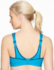 Glamorise® Style 1066 SPORT Bra - No-Bounce Camisole Sports Bra - Back View