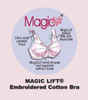 MagicLift® - Embroidered Cotton-Blend Bra