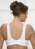 Glamorise Sport Active Comfort Wrap Yoga Low-Impact Sports Bra - Back View