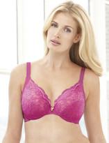 Glamorise Elegance Wonderwire Underwire Lace Side-Smoothing Bra Fuchsia