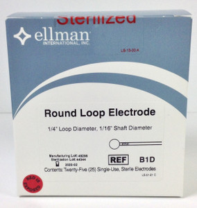 "B1D - Round Loop - 1/4"" Diameter - 25pc Sterile"