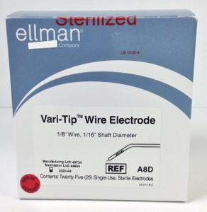 A8D - Vari-Tip Wire Electrode - 25pcs Sterile