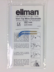 "TA8B - Vari-Tip Electrode 1/16"" Bendable - 2pcs incl. 2 extra wires"