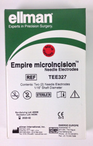 "TEE327 - Empire Micro-Inclusion Electrode 1/16"" Sterile Single-use - 2pk"