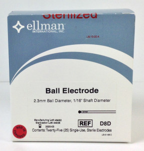 D8D - Ball Electrode 2.3mm, Sterile - 25pcs