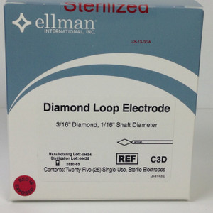 "C3D - Diamond 3/16"" Loop Electrode"