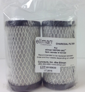 VC123 - Charcoal Filter 2pk