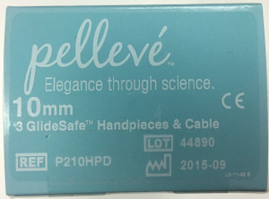 P210HPD - Pelleve Glide Safe Handpieces & Cable (FxdLif Reusable) 10mm (3pk)