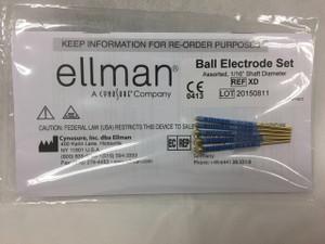 Assorted Ball Electrode Set (5 pcs) XD