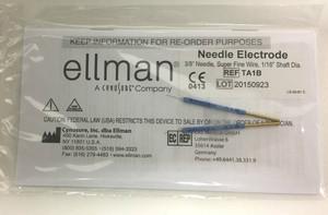 """TA1B - 3/8"""" Needle, Super Fine Wire, 1/16"""" Shaft Dia (2 pcs)"""