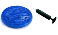 Sivan Health and Fitness 35cm Air Cushion for Balance and Stability Training with pump (Blue)