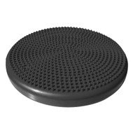 Sivan Health and Fitness 35cm Air Cushion for Balance and Stability Training with pump (Black)