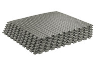 Sivan Health and Fitness Health and Fitness® Puzzle Exercise Mat High Quality EVA Foam Interlocking Tiles (Gray)