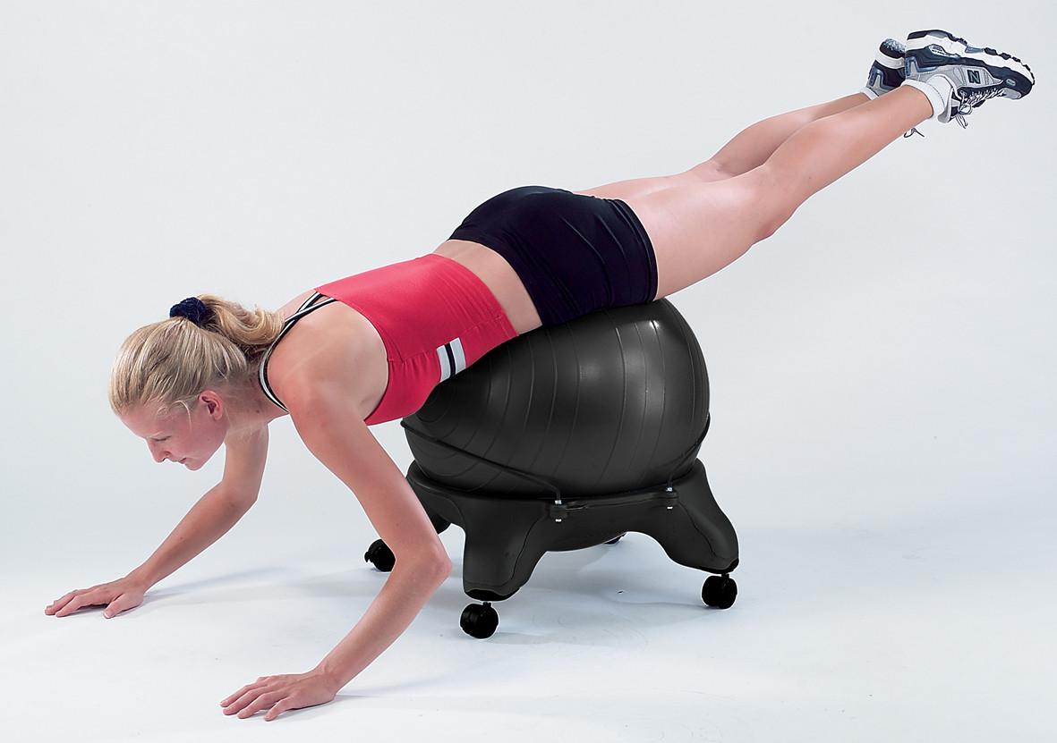 Verwonderlijk Sivan Health and Fitness Balance Ball Chair with Ball and Pump XB-16