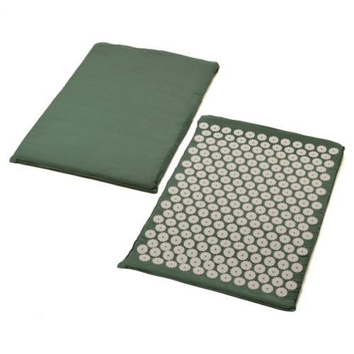 Sivan Health and Fitness Back Massage Acupressure Mat (Green) - sivanhealthandfitness.comFacebookEmailPrintTwitterLinkedIn