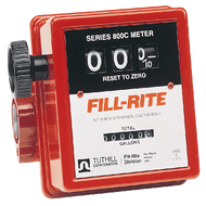 METER Fill-Rite R1807CL1 25mm Mechanical 76lpm 3 digit