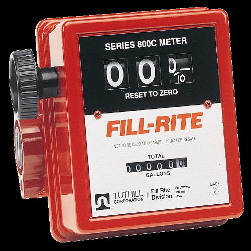 METER Fill-Rite R1807CL1 25mm Mechanical 76lpm 3 digit