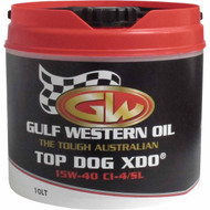 Gulf Western Top Dog XDO 15w40 Ci4 10L, 15w40 engine oil best price in Townsville