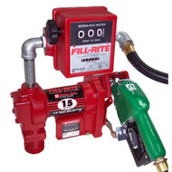 Fill-rite Pump Diesel / Petrol 12V DC 76lpm 4200 Series with Meter & Auto Nozzle
