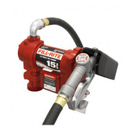 Fill-rite Pump Diesel / Petrol 12V DC 57lpm 1200 Series with Manual Nozzle