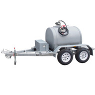 Poly Diesel Trailers Dual Axle- Heavy Duty Range 1000L to 3000L