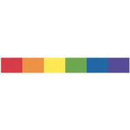 Rainbow Banner Strip Sticker - Gay & Lesbian Decal / LGBT Products