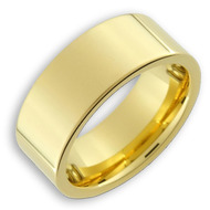 Men's Tungsten Ring (14K Gold Plated 8MM band)