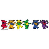 Rainbow Dancing Bears Bumper Sticker (10 x 2 inch) - LGBT Lesbian and Gay Pride Car / Vehicle Decal