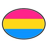 Speaking, gay rainbow fish car magneet
