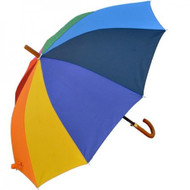 Large Rainbow Panel Gay Pride Umbrella - LGBT Gay and Lesbian Pride Gifts and Merchandise