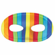 Gay Pride Rainbow Face Mask with Elastic Band - LGBT Gay & Lesbian Pride Parade Accessories - (Flexible Masquerade Mask)