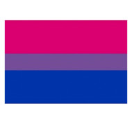 "Bisexual / Bi Pride Flag Sticker for Car (2x3"" Rectangle Bumper Sticker Decal)"