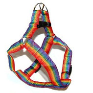Gay Pride Rainbow Pet Harness (Cats / Small Dogs) - LGBT Gay and Lesbian Pride Pet Accessories
