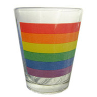Rainbow Pride LGBT Gay and Lesbian Pride Flag - Shot Glass