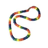 Rainbow Gay Pride Beads - Puka Necklace - Gay and Lesbian LGBT Pride