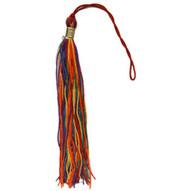 Gay Pride Rainbow Tassel Gay Flag - For graduation OR car decor