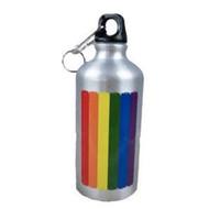 Rainbow Pride LGBT / GLBT Gay & Lesbian - Aluminum Water Bottle