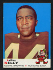 1969 Topps Football # 001  Leroy Kelly Cleveland Browns EX