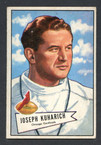 1952 Bowman Small Football # 075  Joseph Kuharich Chicago Cardinals EX