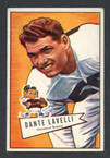 1952 Bowman Small Football # 128  Dante Lavelli Cleveland Browns EX