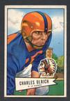 1952 Bowman Small Football # 134  Chuck Ulrich Chicago Cardinals EX
