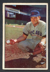 1953 Bowman Color Baseball # 007  Harry Chiti Chicago Cubs VG