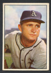 1953 Bowman Color Baseball # 011  Bobby Shantz Philadelphia Athletics VG-1