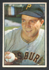 1953 Bowman Color Baseball # 016  Bob Friend Pittsburgh Pirates VG
