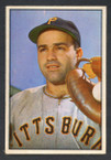 1953 Bowman Color Baseball # 021  Joe Garagiola Pittsburgh Pirates EX